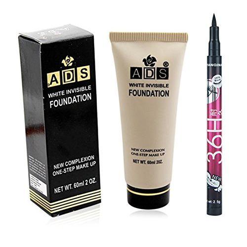 ADS Foundation with Sketch Pen Eyeliner