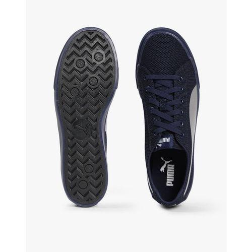 Puma Rap Low Knit Idp Sneakers For Men(Navy)