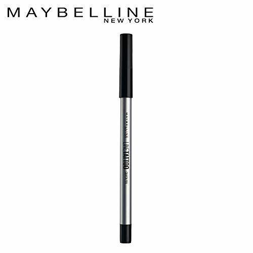 Maybelline Maybellne New York Lne Tattoo Crayon Eyelner, Black, 0.4 ml