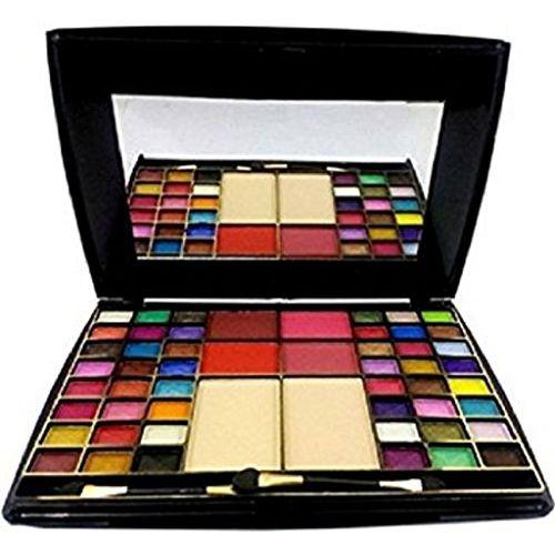 matte look Eyeshadow, Blusher with Compact Powder Makeup Kit, 65 g