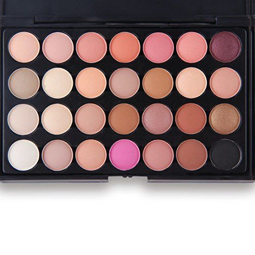 Start Makers ® Start Makers 28 Colors Eyeshadow Earth Warm Color Shimmer Matte Eye Shadow Palette
