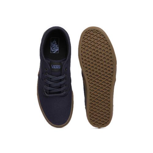 Vans Men Navy Blue Sneakers
