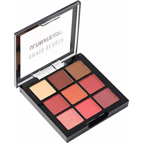 Swiss Beauty Ultimate Eye Shadow Palette with Natural 9 Color 01