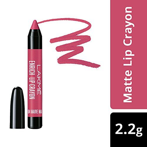 Lakmé Lakme Enrich Lip Crayon, Mauve Magic, 2.2g
