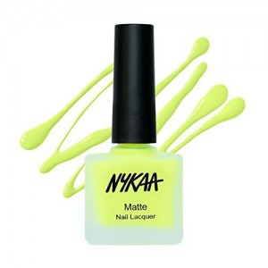 Nykaa Matte Nail Enamel - Lemonade Fizz (Shade No.76) (9 ml)
