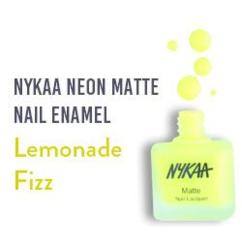 Nykaa Matte Nail Enamel - Lemonade Fizz (Shade No.76) (9 ml)