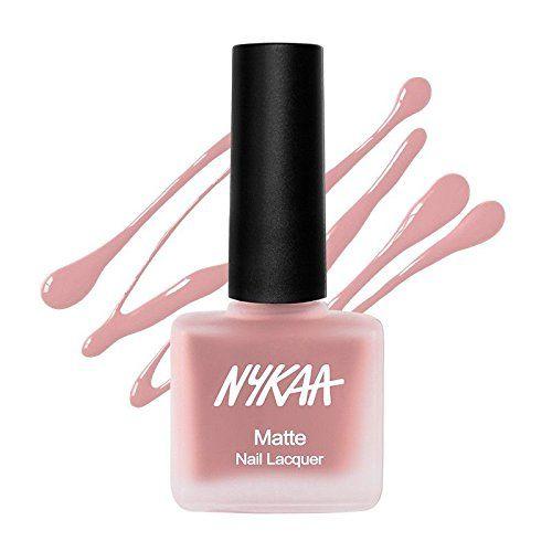 Nykaa Skin Color Matte Nail Enamel - Nutcracker Dreams 151 (9ml)