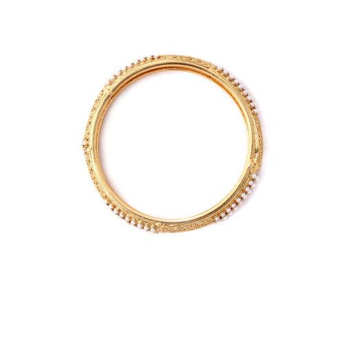 Rubans Set of 2 Gold Plated Bangle