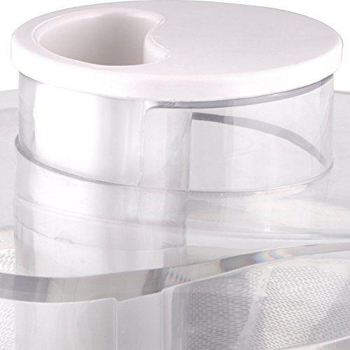 Morphy Richards Divo Essentials 3 Jar 500-Watt Juicer Mixer Grinder (White)