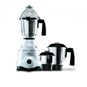 Morphy Richards Icon DLX 600-Watt Mixer Grinder (Silver)