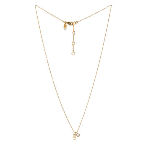 Accessorize Gold Plated Pendant with Chain