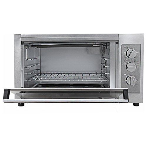 Morphy Richards 40 RCSS 40-Litre Stainless Steel Oven Toaster Grill (Silver)