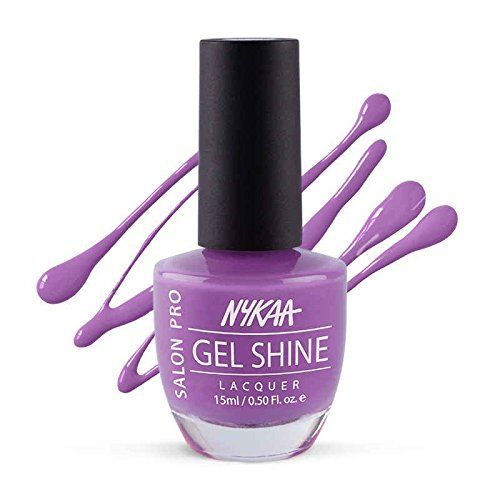 Nykaa Salon Shine Gel Nail Lacquer - Turkish Delight 204 (15ml)