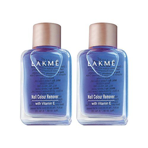 Lakmé Lakme Nail Color Remover, 27ml (Pack of 2)