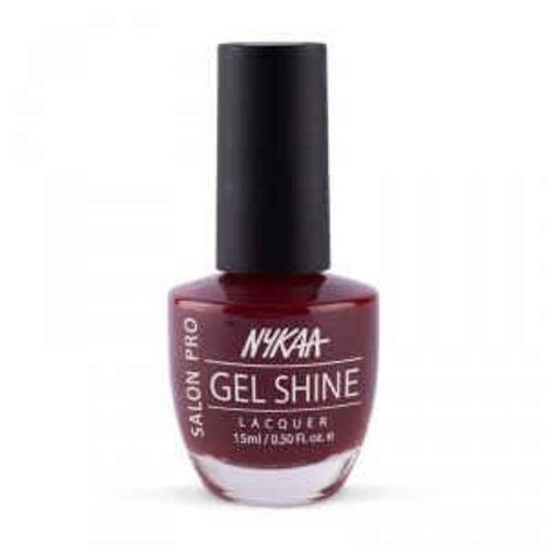 Nykaa Salon Shine Gel Nail Lacquer - Moroccan Spice 205 (15ml)