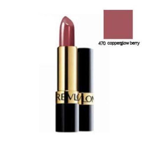 Revlon Super Lustrous Lipstick, Copperglow Berry, 4.2g