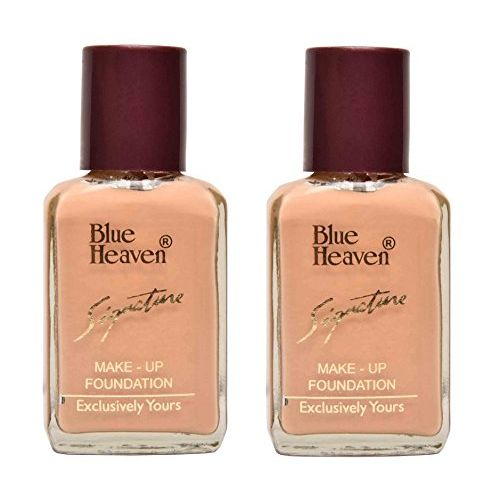 BLUE HEAVEN Signature Foundation , (SHADE-NATURAL), 30 ML/pc, ( PACK OF 2)