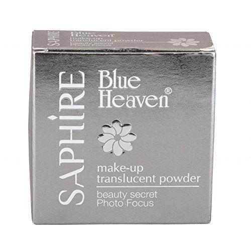 Blue Heaven Saphire Make Up Translucent Powder, 20gm (Blush)