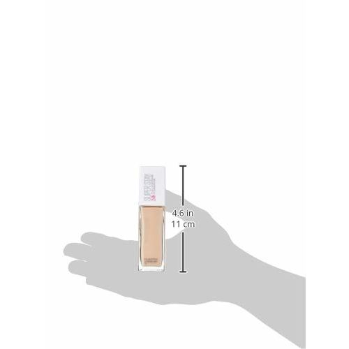 Maybelline New York Super Stay 24H Full Coverage Liquid Foundation, Natural Ivory 112, 30ml