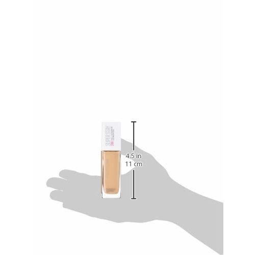Maybelline New York Super Stay 24H Full Coverage Liquid Foundation, Buff Beige 130, 30ml