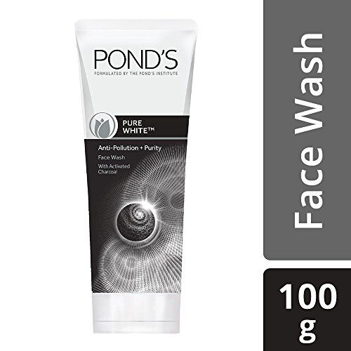 Pond's Pure White Anti Pollution With Activated Charcoal Facewash, 100g
