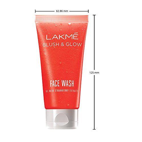 Lakmé Lakme Blush and Glow Strawberry Gel Face Wash, 100g