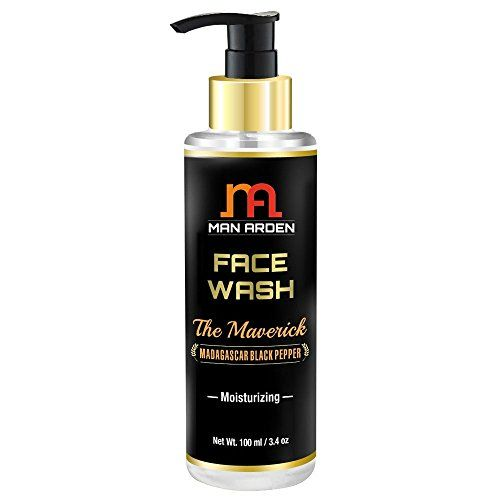 Man Arden Moisturizing Face Wash For Men Maverick (With Lily, Lotus, Murberry Extract), 100ml