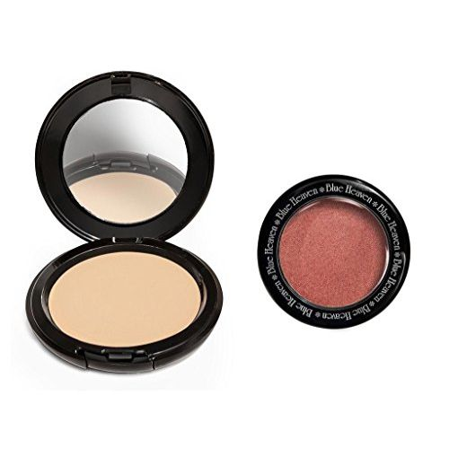 Blue Heaven Cosmetics Artisto Compact and Diamond Blush -Combo Set