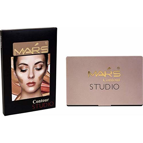 Mars Contour Bronze Highlight Palette Concealer (Beige Girl)