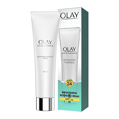 Olay White Radiance Advanced Whitening Skin Cream Moisturizer, SPF 24, 20g