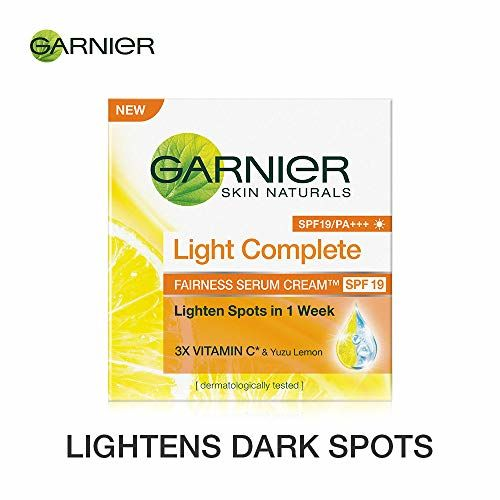 Garnier Skin Naturals, Light Complete Serum Cream SPF 19, 45g