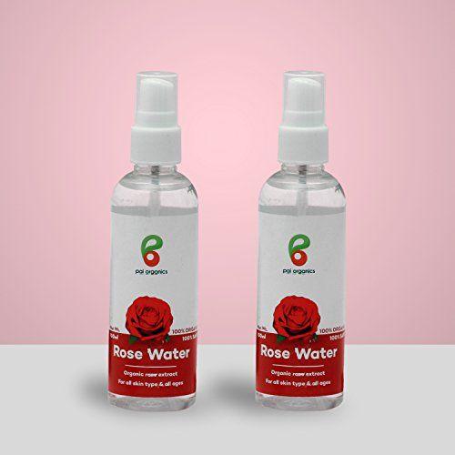 Pai Organics Rose Water Natural Extracts Herbal Skin Toner (100ml)
