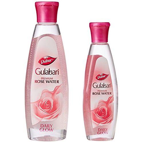 Dabur Gulabari Rose Water, 250ml with Free Dabur Gulabari Rose Water, 59ml