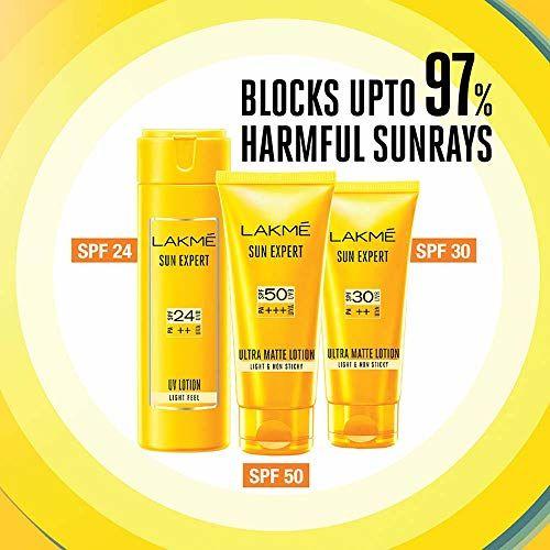 Lakmé Lakme Sun Expert SPF 30 PA Ultra Matte Lotion, 50ml