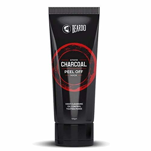BEARDO Activated Charcoal Peel Off Mask, 100g (100gm)