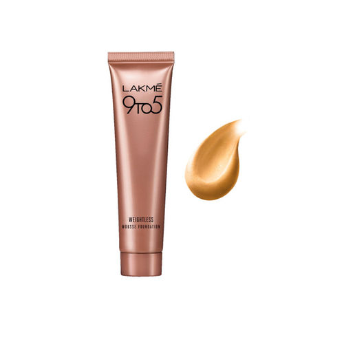 Lakme Set of two 9 to 5 Beige Vanilla Weightless Mousse Foundation 02