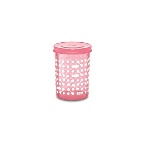 Milton Storex Plastic Container 6 Pc Set (500 ML, Pink)