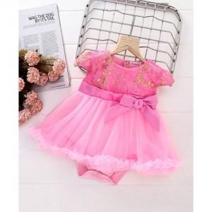 6c6a48962 Buy My Lil Princess Baby Girls Birthday Party wear Frock Dress Tiara ...