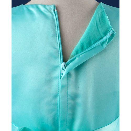 Mark & Mia Pearls Embellished Cap Sleeves Dress - Aqua