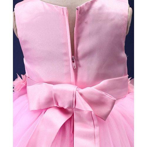 Mark & Mia Pearls Embellished Sleeveless Dress - Light Pink