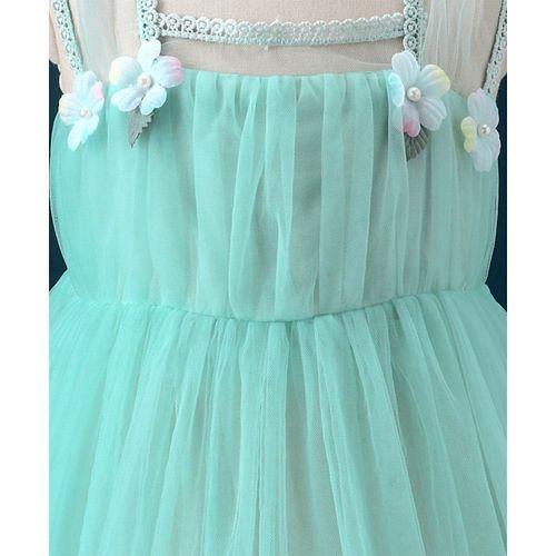 Mark & Mia Square Neck Party Dress - Aqua Green
