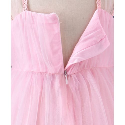 Mark & Mia Square Neck Party Dress - Pink