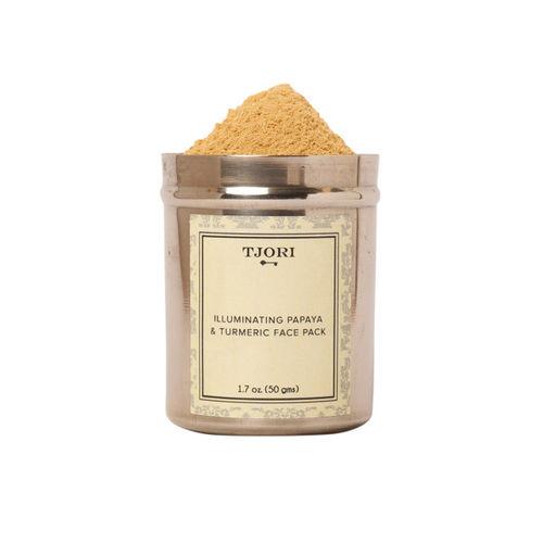TJORI Women Illuminating Papaya and Turmeric Face Pack 50 gm