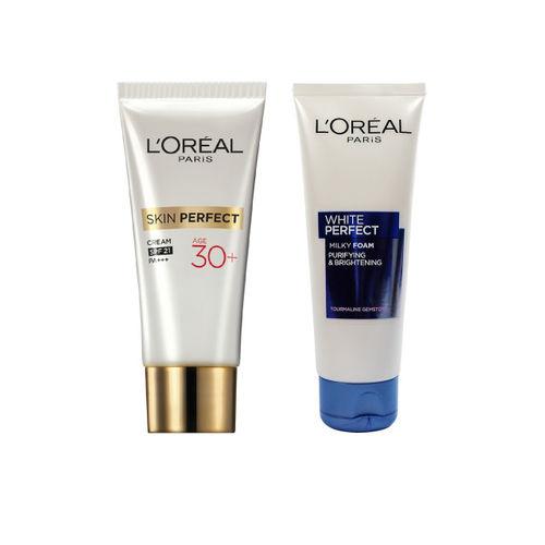LOreal Paris Set of Face Wash & Day Cream