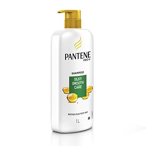Pantene Silky Smooth Care Shampoo, 1L