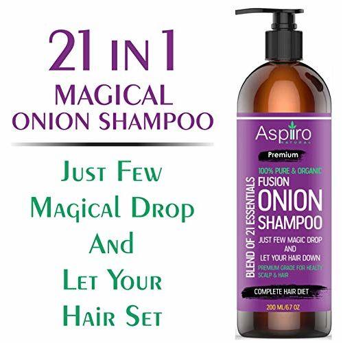 Buy Aspiiro Natural Organic Red Onion Hair Growth Shampoo 200 Ml