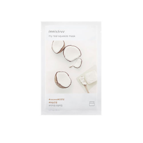 Innisfree Unisex My Real Squeeze Coconut Face Mask 20 ml