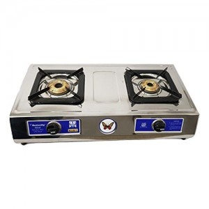 Butterfly Ideal Stainless Steel 2 Burner LPG Gas Stove