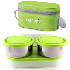 Milton Executive 3 Containers Lunch Box 3 Containers Lunch Box(1300 ml)