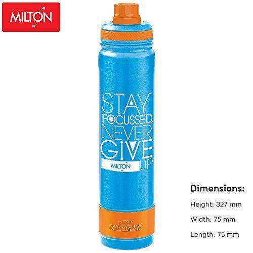 Milton Astir-900 Stainless Steel Bottle, 900ml, Blue